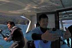 延岡マリンサービス・船上から撮影