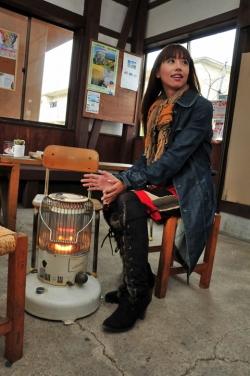 駅舎カフェ「久永屋」・イメージ