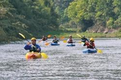 カヌー体験(五ヶ瀬川、北川)