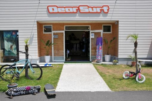 Dear Surf・店舗入り口