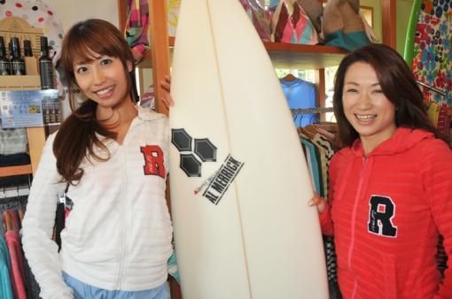 Dear Surf・Asaco Uminoさん