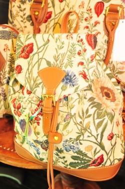 サンクチュアリ・ジャガード織りバッグ