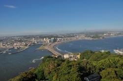 『江ノ電』各駅下車〜全駅周辺散策・江ノ島からの風景