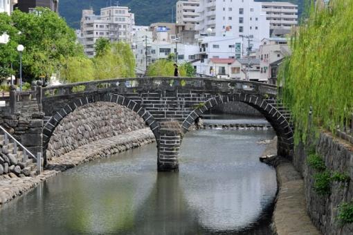 長崎を「さるく」〜1日でまわれる長崎有名観光スポット・眼鏡橋