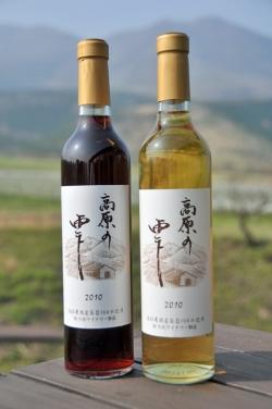 久住ワイナリー・''10 高原の雫 赤 / 白(2010国産ワインコンクール銅賞受賞)