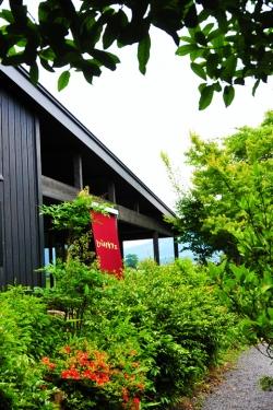 ヒバリカフェ/ひばり工房・店舗入り口