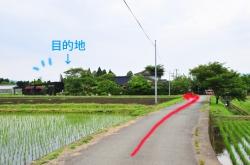 ヒバリカフェ/ひばり工房・バス停風看板