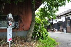 ヒバリカフェ/ひばり工房・店舗前看板