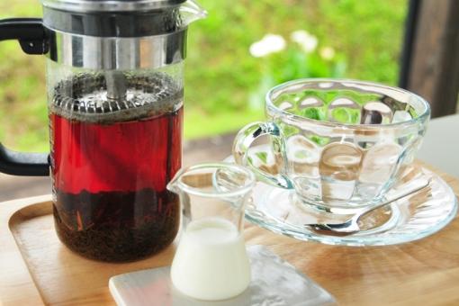 ヒバリカフェ・ナガタ紅茶