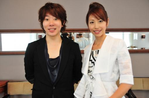 川越達也シェフ(左)