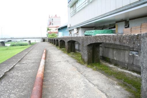 五ヶ瀬川の畳堤(畳堤を守る会)