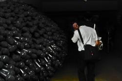 別府現代芸術フェスティバル2012 別府混浴温泉世界 内覧バスツアー 旧地下街(ソルパセオ銀座商店街内)「シルパ・グプタ」