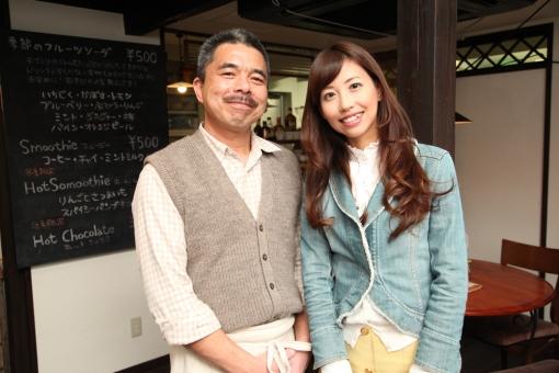 ここちカフェむすびの・店主河野健司