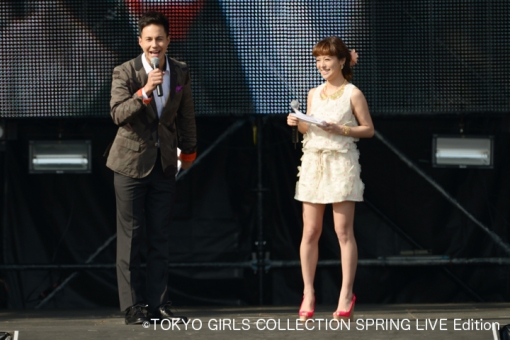 TGC SPRING LIVE Edition supported by 宮崎恋旅 MC登場!(ユージさん、神戸蘭子さん)