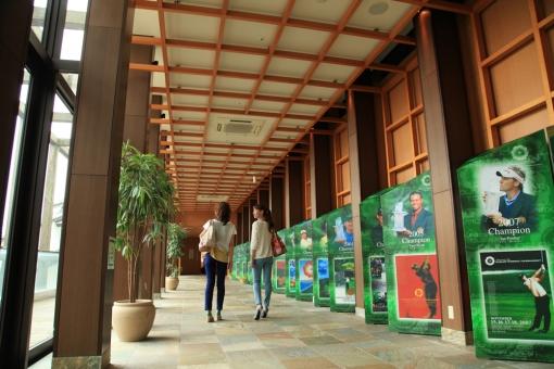 シーガイア・客室から松泉宮への通路