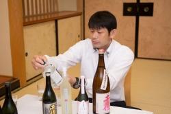 三蔵鼎談・佐藤焼酎銀の水試飲