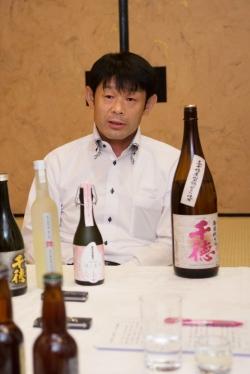 三蔵鼎談・千徳酒造 純米酒千徳門田さん