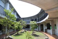 佐藤焼酎製造場蔵見学・中庭