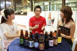 ひでじビール蔵見学・片伯部智之さんインタビュー風景