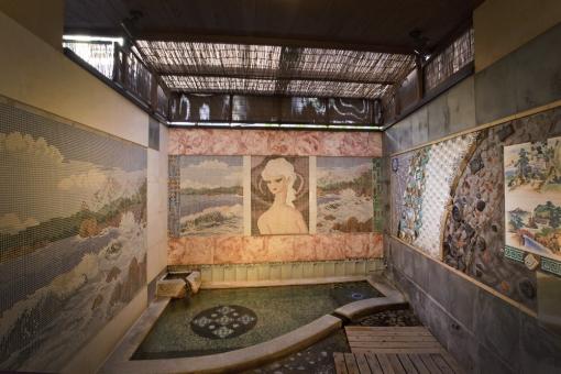 『べっぷ野上本館』の貸切風呂「光寿泉」