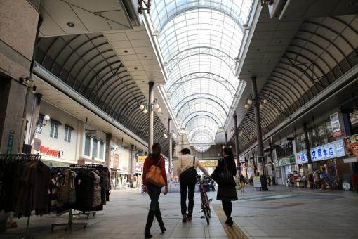 大分市中心街をまち歩き〜大分みちくさ小道 2013