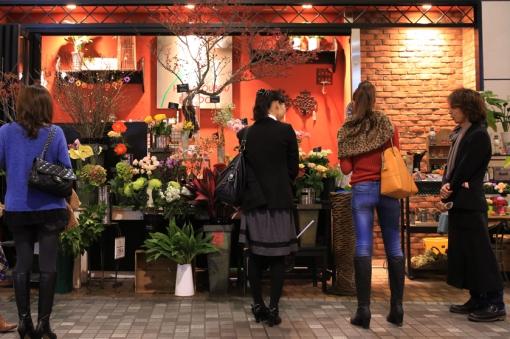 大分市中心部街あるき〜大分みちくさ小道 2013 花屋さん