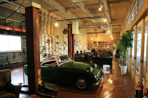 ENGAWA cafe fogeye・店内イメージ