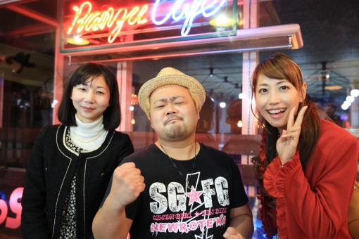 大分まちあるき2・RANZU CAFE・オーナー上野さん
