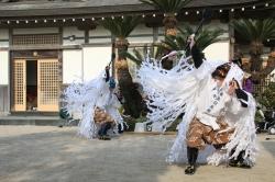 青島裸まいり・青島臼太鼓踊り