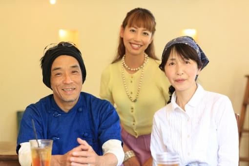 キッチンウスダ・臼田朗さん、成美さん夫妻