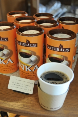 nicoドーナッツ湯布院本店・インカコーヒー