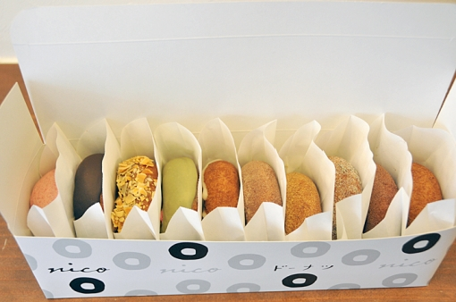 nicoドーナッツ湯布院本店・ドーナツ10個セット