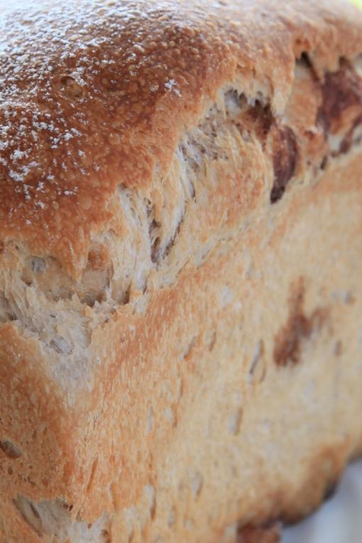 ぶらうにい・いちご酵母のいちご食パン(シナモンシュガー)
