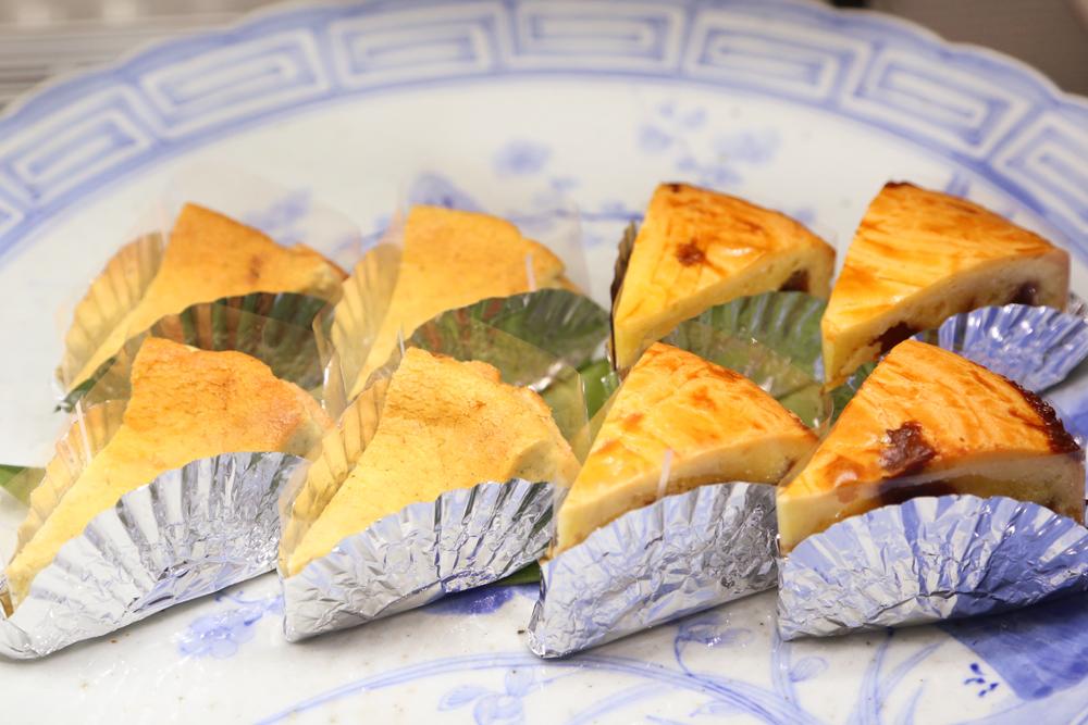 富春館・木の芽のチーズケーキ・くるみとカシューナッツのキャラメルナッツケーキ