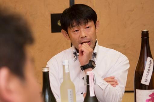 三蔵鼎談・千徳酒造門田さん