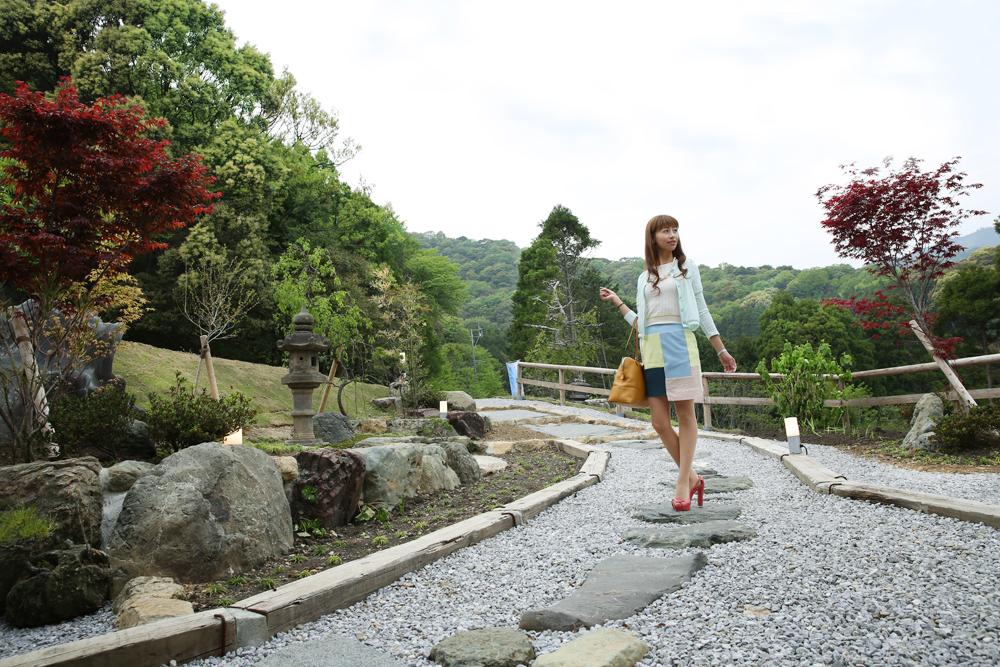 髙平屋・入り口庭園イメージ