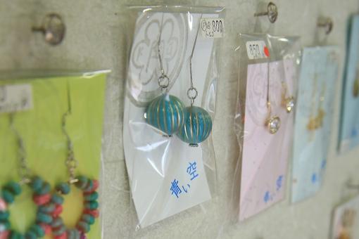 TUKURU & CAFE 野津原倉庫 アクセサリーコーナー