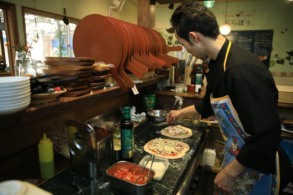 石窯キッチン&カフェ  ぶらぼぅ 大分