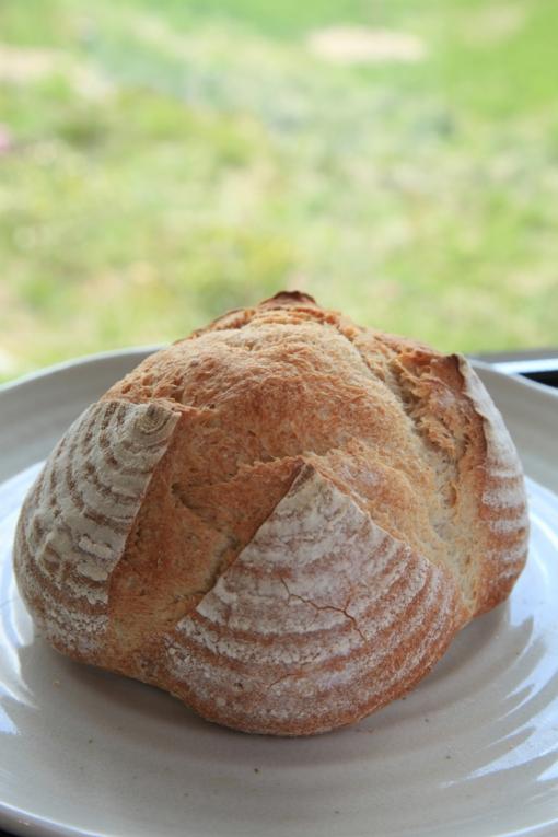 ぶらうにい・レーズン酵母の田舎パン
