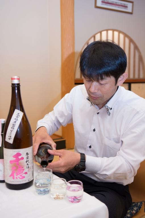 三蔵鼎談・千徳酒造 大吟醸千徳
