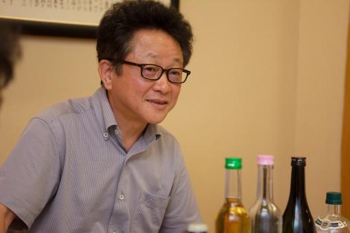 三蔵鼎談・千徳酒造 大吟醸千徳試飲 水江さん