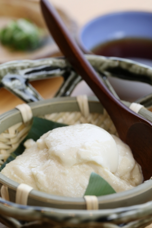 髙平屋・1500円ランチ自家製豆腐