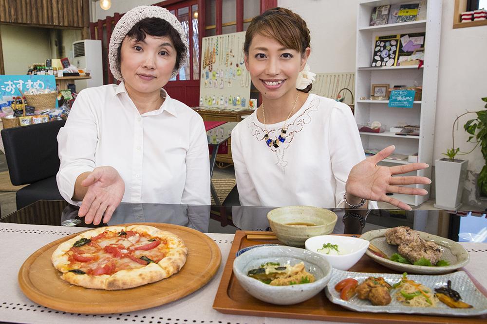 TUKURU & CAFE 野津原倉庫 お料理紹介 マクロビ&ピザ