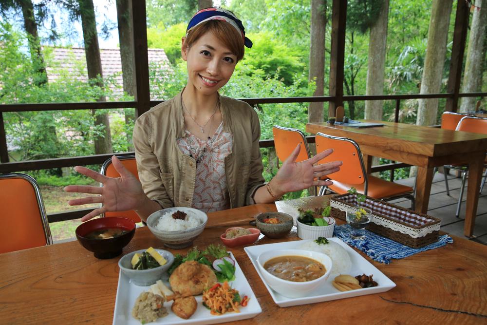 むすびカフェ『千人の蔵』(天岩戸温泉村)