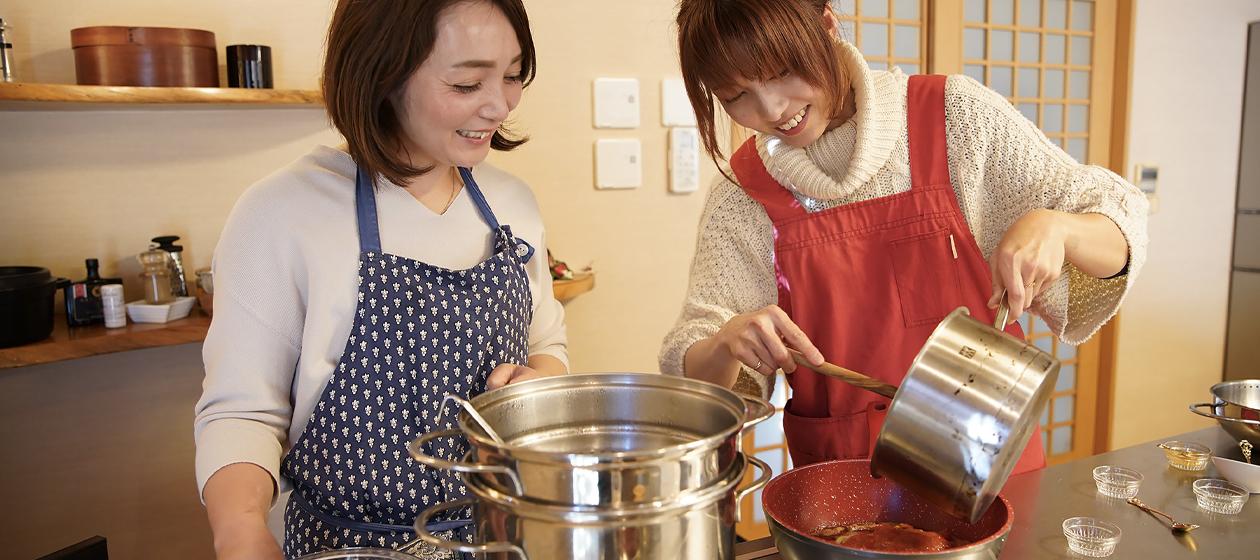 五ヶ瀬町の料理教室と民泊『corasita(コラシタ)』