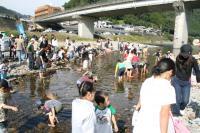 川の生物ウォッチング1