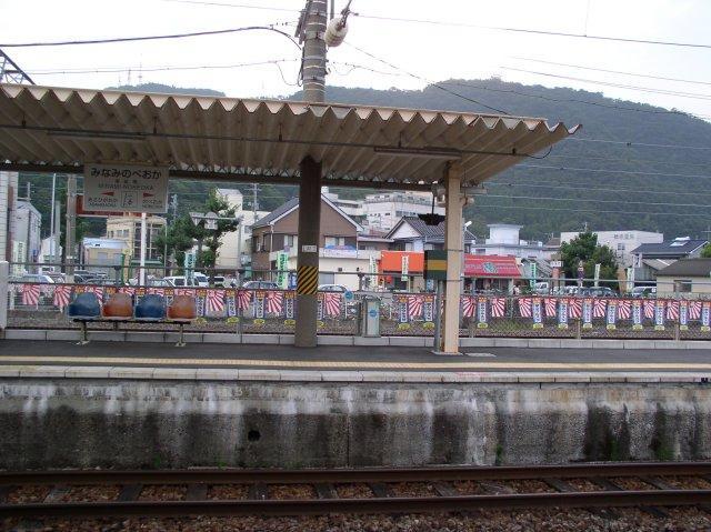 JR南延岡駅のホーム