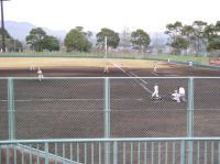 近くの野球場