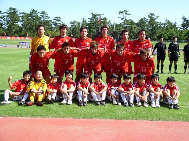 パワスポ: 全国で戦う宮崎のサッカーチーム「ホンダロックSC」 <1>