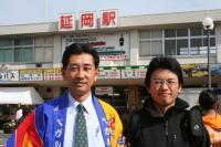 左:ATN有村理事長/右:NATS齋藤真之介さん